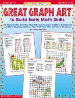 Math Skills Made Fun: Great Graph Art to Build Early Math Skills (Enhanced eBook)