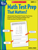 Math Test Prep That Matters! Grades 3-4 (Enhanced eBook)