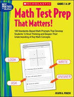 Math Test Prep That Matters! Grades 5 & Up