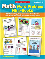 Math Word Problem Mini-Books