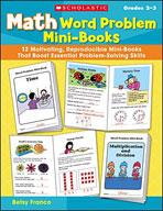 Math Word Problem Mini-Books