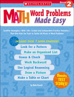 Math Word Problems Made Easy: Grade 2 (Enhanced eBook)