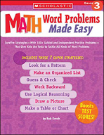 Math Word Problems Made Easy: Grade 3 (Enhanced eBook)
