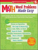 Math Word Problems Made Easy: Grade 5 (Enhanced eBook)