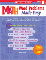 Math Word Problems Made Easy: Grade 6 (Enhanced eBook)