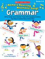 Memory-Boosting Mnemonic Songs: Grammar (Enhanced eBook)
