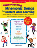 Memory-Boosting Mnemonic Songs for Content Area Learning