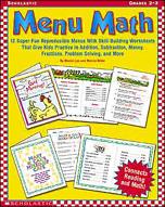 Menu Math (Enhanced eBook)
