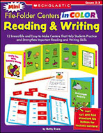 Mini File-Folder Centers in Color: Reading and Writing Grades 2-3 (Enhanced eBook)