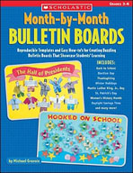 Month-by-Month Bulletin Boards (Enhanced eBook)