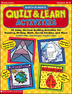 Month-by-Month Quilt & Learn Activities (Enhanced eBook)