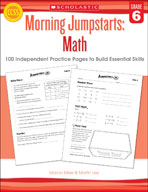 Morning Jumpstarts: Math (Grade 6) (Enhanced eBook)