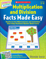 Multiplication and Division Facts Made Easy (Enhanced eBook)