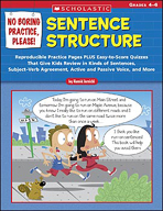No Boring Practice, Please: Sentence Structure (Enhanced eBook)