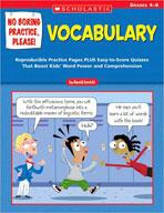 No Boring Practice, Please! Vocabulary (Enhanced eBook)