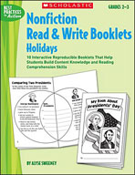 Nonfiction Read & Write Booklets: Holidays