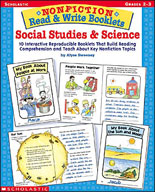 Nonfiction Read & Write Booklets: Social Studies & Science
