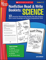 Nonfiction Read and Write Booklets: Science (Enhanced eBook)
