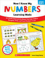 Now I Know My Numbers Learning Mats (Enhanced eBook)