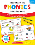 Now I Know My Phonics Learning Mats (Enhanced eBook)