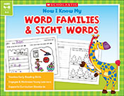 Now I Know My Word Families and Sight Words (Enhanced Ebook)