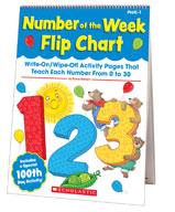Number of the Week Flip Chart (Enhanced eBook)