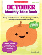 October Monthly Idea Book (Enhanced eBook)