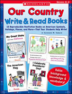 Our Country Write and Read Books