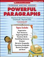 Overhead Writing Lessons: Powerful Paragraphs (Enhanced eBook)
