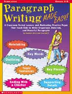 Paragraph Writing Made Easy! (Enhanced eBook)
