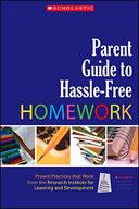 Parent Guide to Hassle-Free Homework (Enhanced eBook)