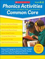 Phonics Activities to Meet the Common Core