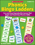 Phonics Bingo Ladders (Enhanced eBook)