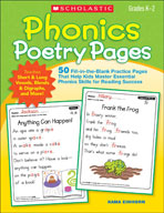 Phonics Poetry Pages (Enhanced eBook)