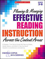 Planning and Managing Effective Reading Instruction Across the Content Areas