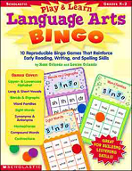 Play & Learn Language Arts Bingo (Enhanced eBook)