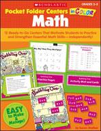 Pocket-Folder Centers in Color: Math Grades 2-3