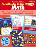 Pocket-Folder Centers in Color: Math Grades K-1 (Enhanced Ebook)