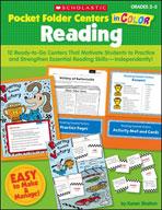 Pocket-Folder Centers in Color: Reading Grades 2-3