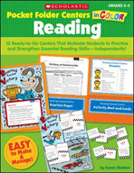 Pocket-Folder Centers in Color: Reading Grades 2-3 (Enhanc