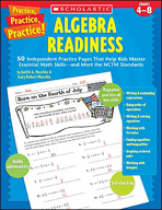 Practice, Practice, Practice! Algebra Readiness
