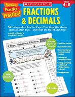 Practice, Practice, Practice! Fractions & Decimals (Enhanced eBook)