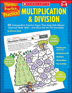 Practice, Practice, Practice! Multiplication & Division (Enhanced eBook)