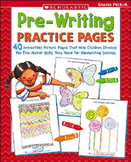 Pre-Writing Practice Pages