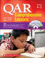 QAR Comprehension Lessons: Grades 4-5 (Enhanced eBook)