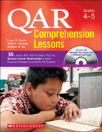 QAR Comprehension Lessons: Grades 4-5 (Enhanced eBook)
