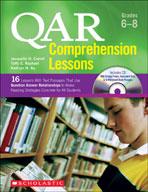 QAR Comprehension Lessons: Grades 6-8