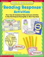 Quick & Creative Reading Response Activities (Enhanced eBook)