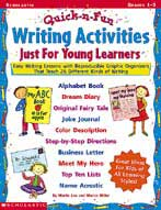 Quick & Fun Writing Activities Just for Young Learners (Enhanced eBook)