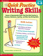 Quick Practice: Writing Skills: Grades 6-8 (Enhanced eBook)